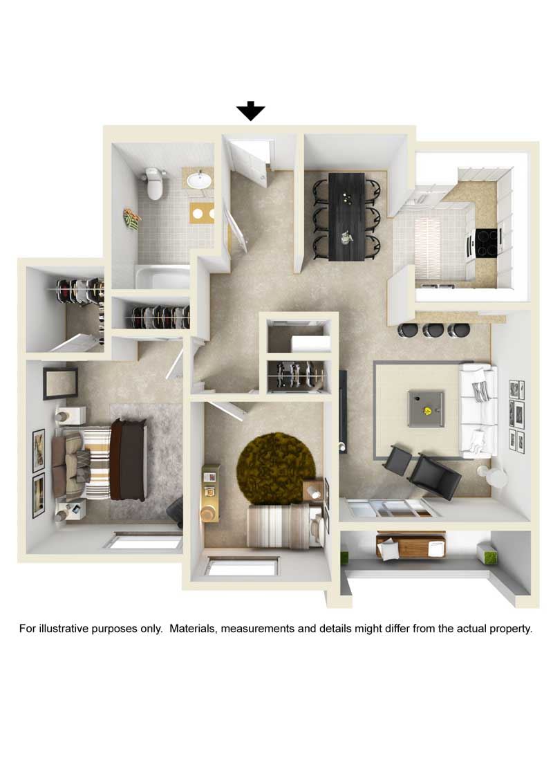 Two A floor plan